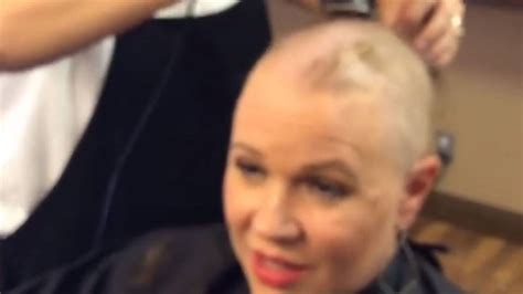 how much for a prison haircut espn s holly rowe shows bald is beautiful while facing