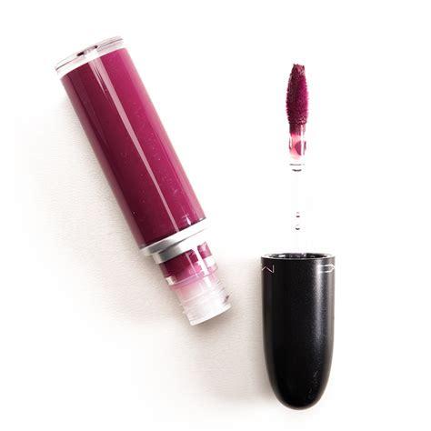 Mac Liquid Lipstick mac high drama oh retro matte liquid lipsticks