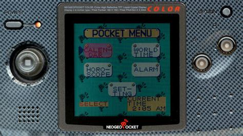 the life and times of the neo geo pocket color | den of geek