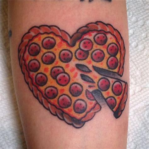 6 pizza tattoos on ankle shape shamrock on ankle golfian