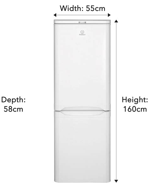 what is the width of a full size bed indesit ncaa55 157x55cm freestanding fridge freezer white