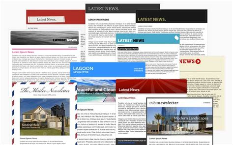 Theme Wordpress Newsletter | wordpress newsletter plugin email templates