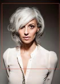 gray hair styles for younger constanza arena chile silver style pinterest