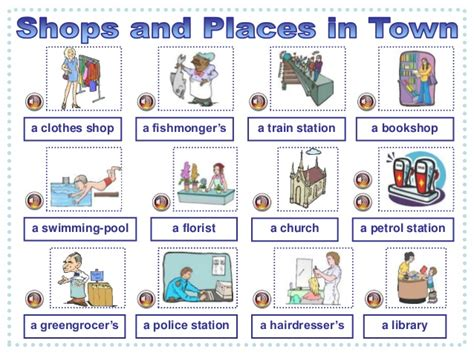 shops in my town worksheet free esl printable worksheets shops and places in town listening comprehension