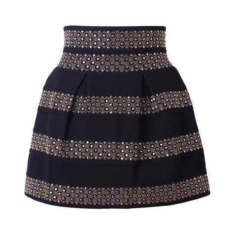 Rok Mini Skirt Motif Stipes Stripe Hitam Putih Import get cheap plaid skirt aliexpress alibaba