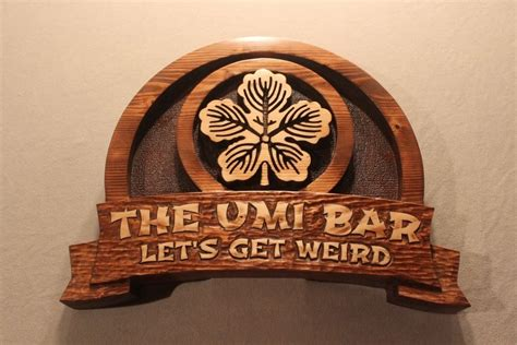 Handmade Wooden Signs Custom - handmade carved wood signs 3d signs custom wood signs