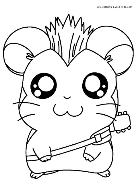 coloring pages cartoons animals coloring pages for kids animals cute characters color