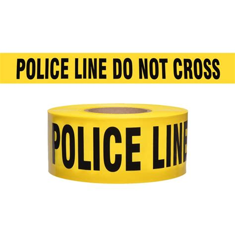 police tape police line do not cross barricade tape 1000 ft roll 2 5