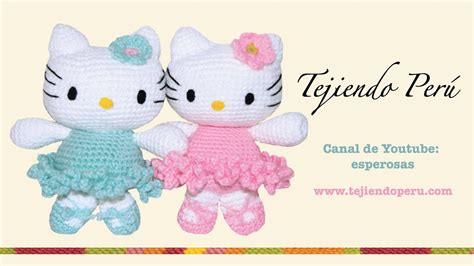como hacer la cabeza de hello kity para disfraz hello kitty tejida a crochet amigurumi parte 1 cabeza