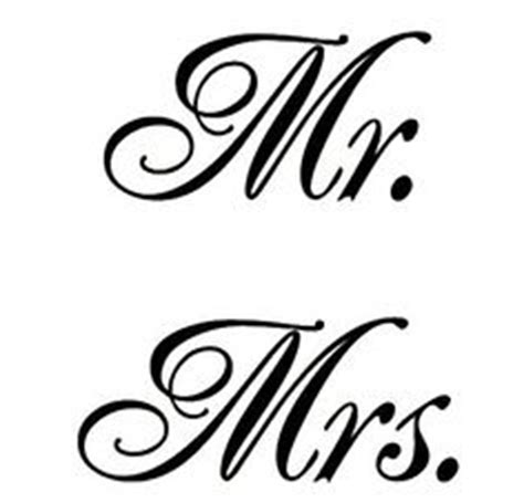 mr clipart mr and mrs and fonts clipart