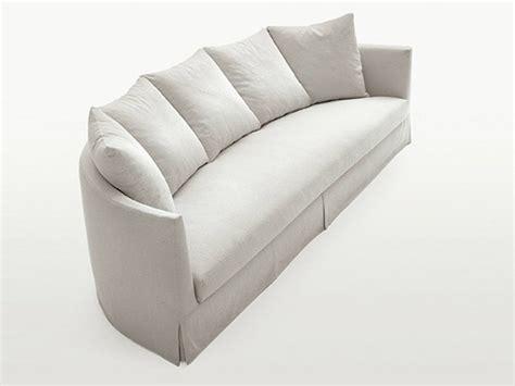 divano semicircolare divano semicircolare imbottito in tessuto divano