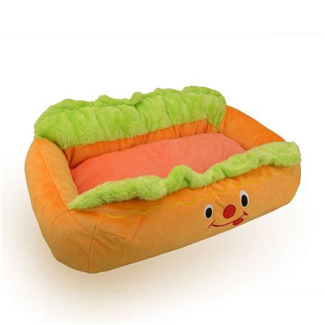 hot dog bed amazon com pet kingdom hot dog design dog bed with