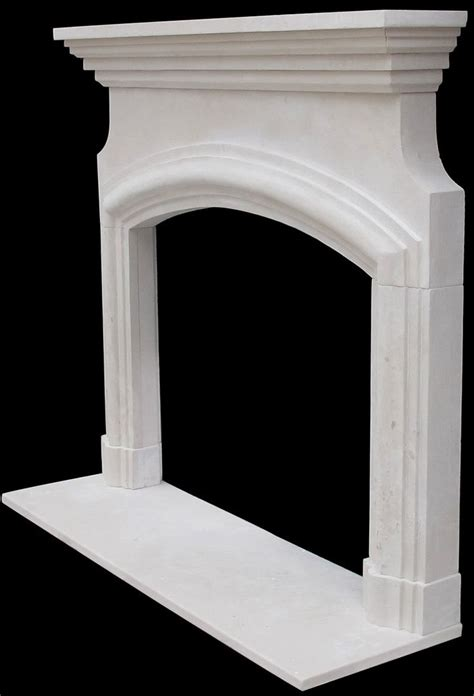 arched fireplace mantels marseille fireplace surrounds artisan kraft