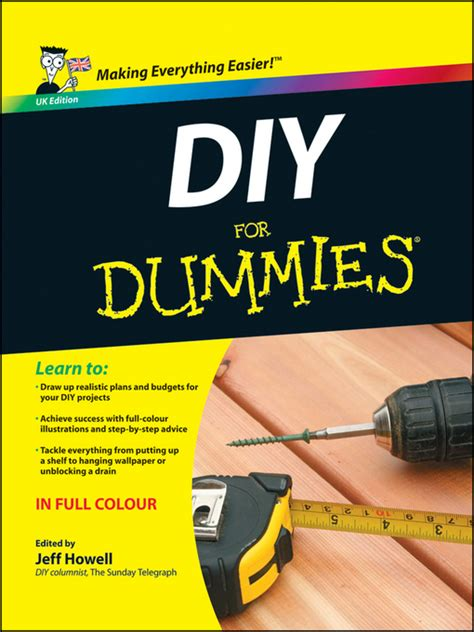 diy for dummies uk edition ebook by jeff howell 2010