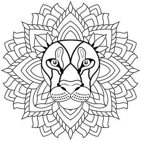 S Dessin Coloriage A Dessiner Lion