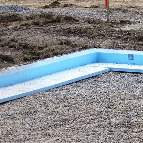 slab on grade foundation insulation buildipedia