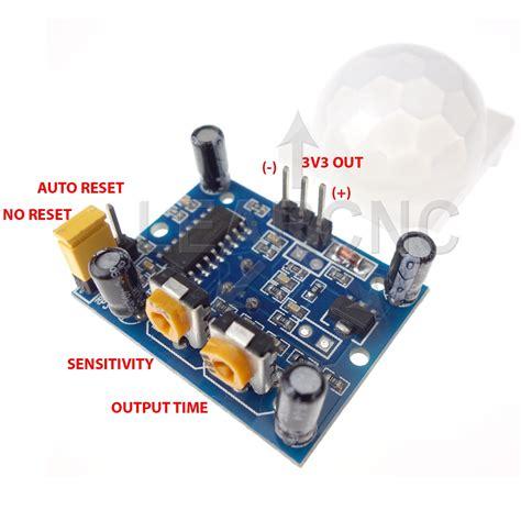 Sensor Pir Hc Sr501 Sensor Gerak Motion Sensor hc sr501 pir motion sensor module arduino raspberry pi