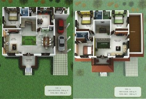 nalukettu house plans two storey nalukettu house plan interior design pinterest house farm house and