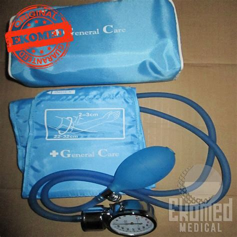 Tensimeter Merk General Care general care tensi jarum aneroid transparent ekomed
