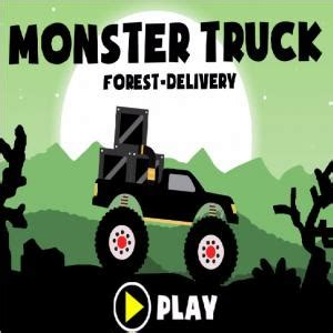 monster truck forest delivery a free extreme sports game
