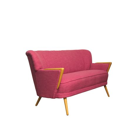 pink 2 seater sofa mid century pink two seater sofa 1960s for sale at pamono