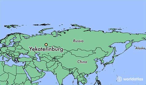 yekaterinburg map where is yekaterinburg russia yekaterinburg