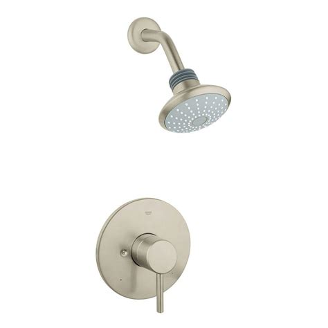 grohe concetto single handle shower only faucet trim kit