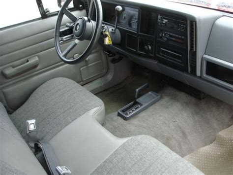 Comanche Interior by 1992 Jeep Comanche Interior Pictures To Pin On