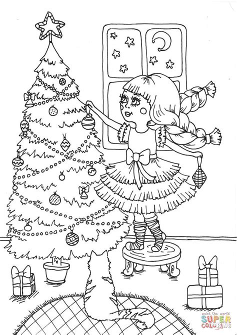 peppy in december coloring page free printable coloring