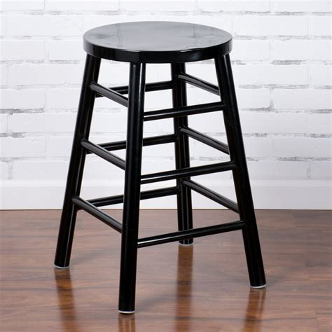 Black Metal Counter Height Bar Stools by Lancaster Table Seating Spartan Series 24 Quot Black Metal