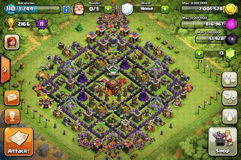 top 10 clash of clans town hall 6 trophy base layouts clash of clans tips town hall level 10 layouts