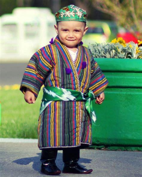 uzbek national dress travelcentrevbn uzbekistan little boy kid traditional uzbek clothing