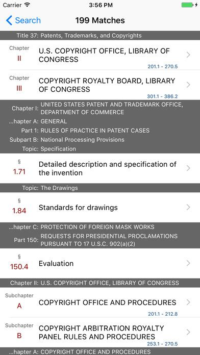 code of federal regulations title 37 patents trademarks and copyrights revised as of july 1 2017 books app shopper 37 cfr patents trademarks and copyrights