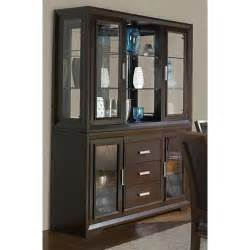 dining room china buffet brentwood contemporary china cabinet with etched glass