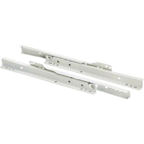 Style Drawer Slides by 10 Quot European Style Self Closing Drawer Slide White