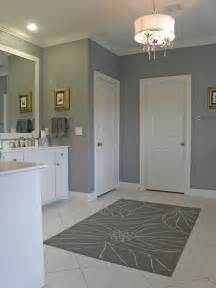 Bathroom Wall Paint Ideas by Bathroom Wall Color Ideas In Gray For The Home Pinterest