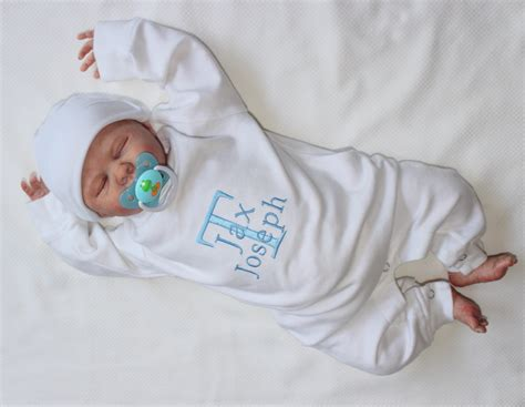 baby boy going home personalized with name coming
