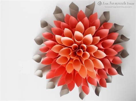 creativity tutorial tutorial membuat bunga dahlia dari membuat bunga dahlia dari kertas projects to try