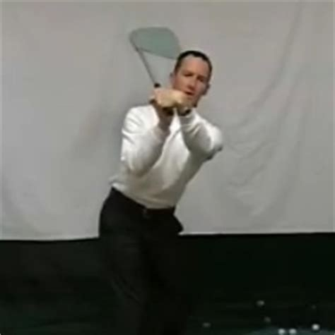 golf swing bowed left wrist flat left wrist at top of backswing golf lesson by