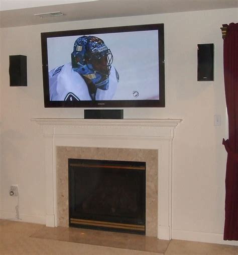Installing Tv Fireplace by Great Installation At A Great Price In Maryland Wall Mounted Tv Installation