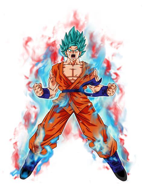 imagenes de goku super kaioken goku super saiyan blue kaioken by bardocksonic on