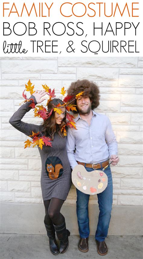 bob ross painting a happy tree bob ross happy tree costume