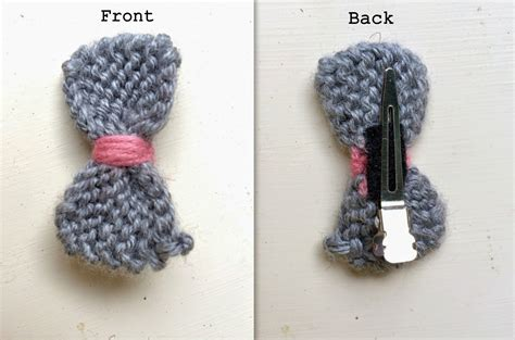 how to knit a hair bow turtlecraftygirl knitted hair bows