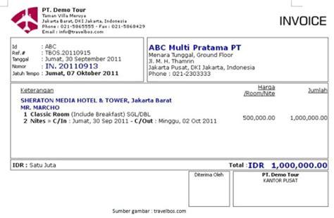 Contoh Menulis Notula Rapat by Contoh Invoice Penagihan Pembayaran Contoh Invoice