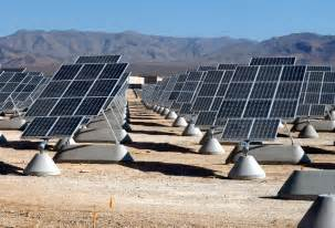 Superior Thin Solar Panels For Your Home #1: Nellis_AFB_Solar_panels.jpg .