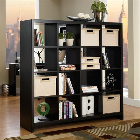 Cube Room Divider Kathy Ireland Office By Bush Furniture New York Skyline 16 Cube Bookcase Room Divider Mocha