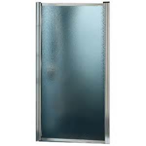 pivot glass shower door porte de rona