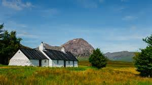 blackrock cottage glencoe scotland the land of kilts haggis and wuthering heights