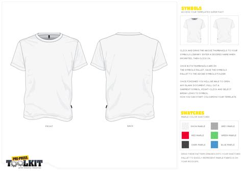 Adobe Illustrator T Shirt Template Download Templates Data Adobe Illustrator T Shirt Template