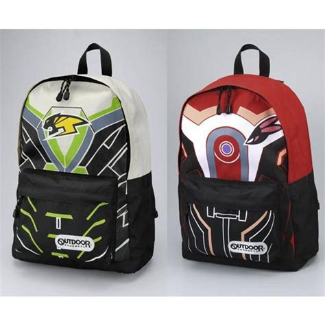 crunchyroll backpack maker outdoor collaborates with